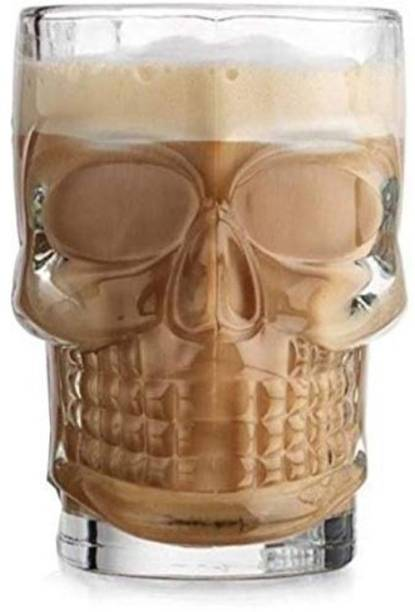 Flexus SKULL BEER MUG Glass Beer Mug