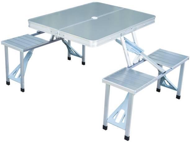 SHOPNJAZZ Metal Outdoor Table
