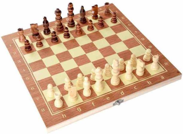 lycan Neulife wooden chessboard with 32 chessman Board Game Accessories Board Game