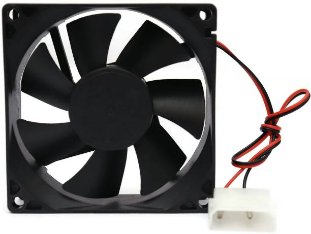 Electronicspices DC 12V MOLEX 2PIN CONNECTOR Cooling Fan for PC Case CPU Radiator Cooler Cooler