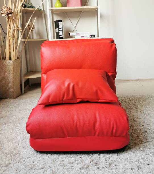 Furn Central Easy-0700-4 Red Floor Chair