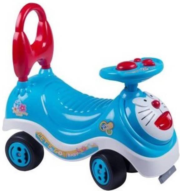 Mt hub Doraemon Baby Rider Infant to Toddler Rider Scooter