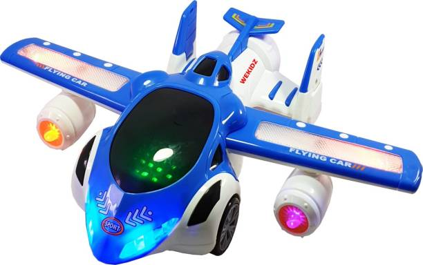 Wekidz 3d led flying car