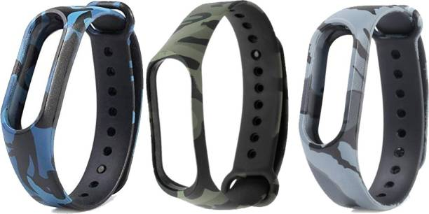 KERO Silicone Sports Soft Wrist Strap for Band 3 Smart Band Strap Smart Band Strap