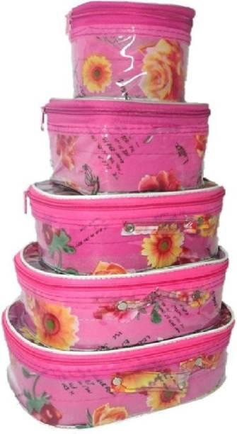 Aavni Toiletry Makeup Bindi Bangle Socks Hanky Storage special Vanity Box