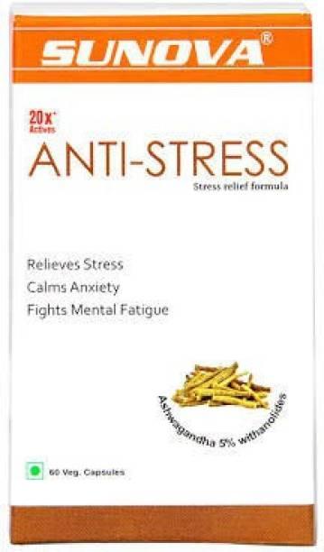 SUNOVA Anti-Stress Capsules (Pack of 1) , 60 Cap