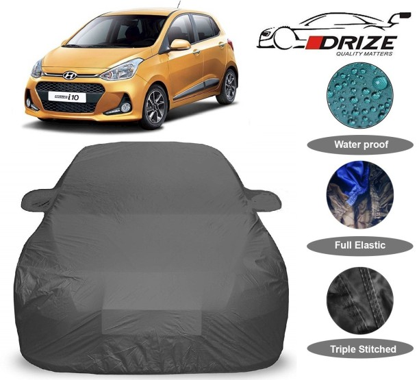 2015 JEEP COMPASS Breathable Car Cover w//Mirror Pockets Gray