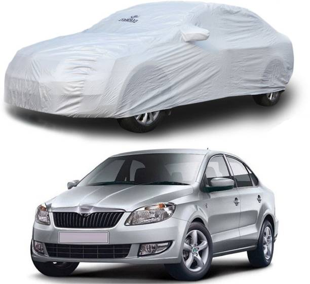CARMATE Car Cover For Skoda Rapid (With Mirror Pockets)