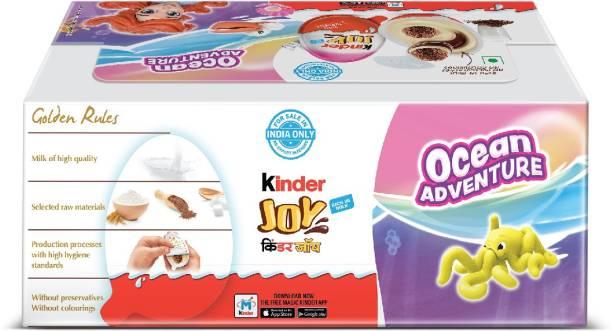 Kinder JOY for Girls Milk Chocolate Fudges
