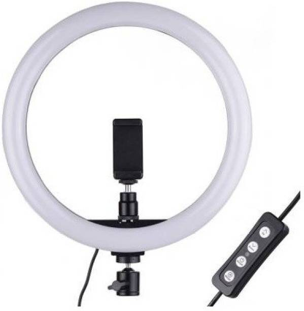 SF 10 inch Dimmable LED Selfie Ring Light Mini LED Camera Light Studio Fill Light Desktop Lamp for YouTube Video, Live Streaming, Portrait Photography Lighting, Makeup,tiktok user Ring Flash