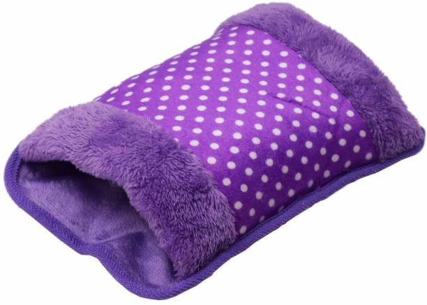 Smartcraft POCKET VELVET Electric Hot Water purple LARGE HOT BAG 1.5 ml Hot Water Bag