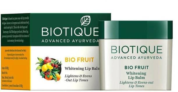 BIOTIQUE bio fruit whitening lip balm 12gm fruit