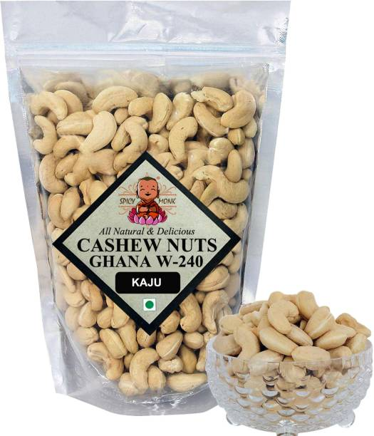 Spicy Monk Premum Whole W240 Ghana Cashew, Cashews