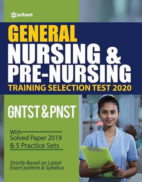 General Nursing & Pre Nursing Training Selection Test 2020 Gntst & Pnst