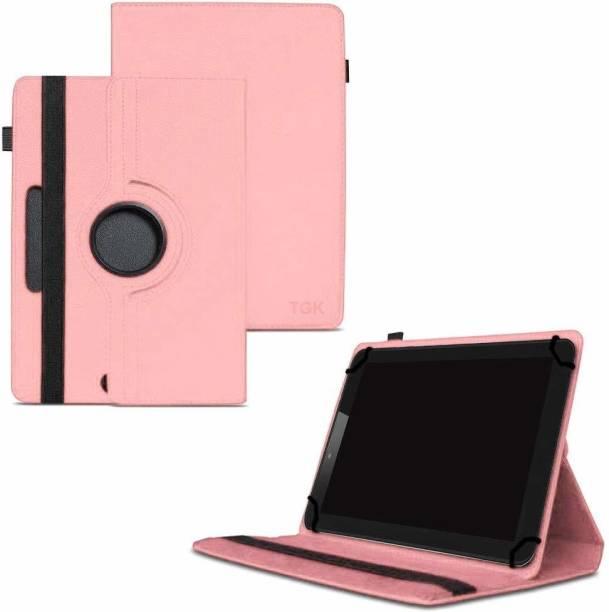 "TGK Flip Cover for ASUS ZenPad Z8s ZT582KL 7.9"" Tablet (2017 Released) with 360 Degree Rotating Leather Case"