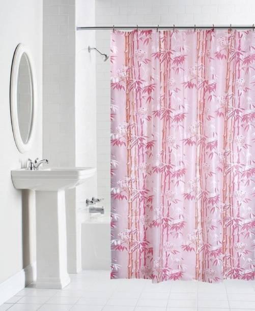 Flipkart SmartBuy 210 cm (7 ft) PVC Shower Curtain Single Curtain