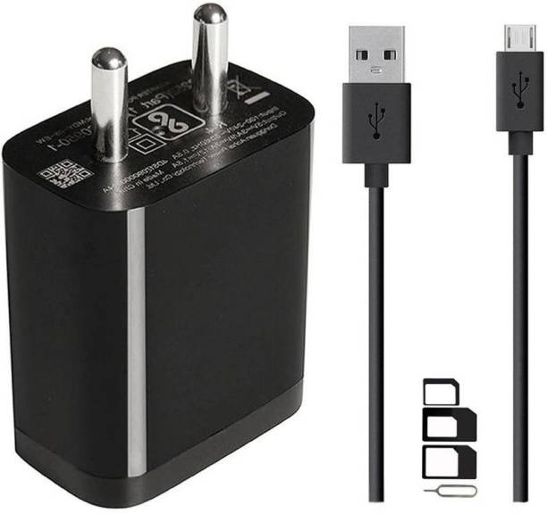 GoSale Wall Charger Accessory Combo for Meizu C9 | Meizu C9 Pro | Meizu M5 | Meizu M6 | Meizu M6S | Meizu M6T | Meizu M8 Lite | Meizu M8C | Meizu M8C Lite | Note 8 | V8 | V8 Pro