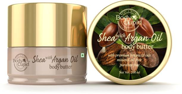 Body Cupid Shea and Argan Oil Body Butter 200ML