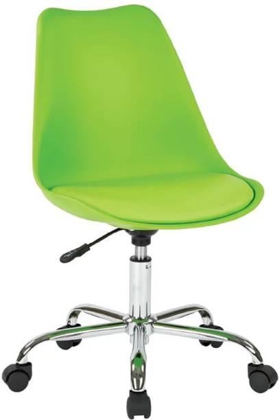 Finch Fox Height Adjustable Stylish Modern Rotary Office Chair for Salon/Spa/Bar Stool Chair Leatherette Office Executive Chair