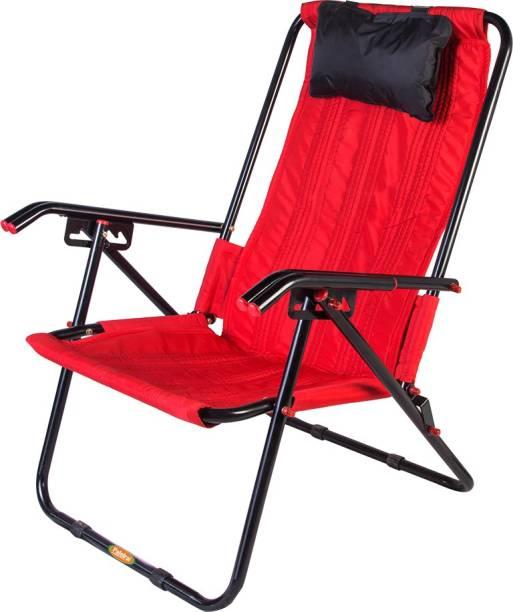 Patelraj Arm Folding Relax Chair Metal Outdoor Chair