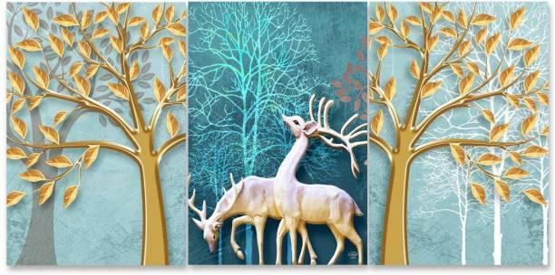 RANGOLI 3D MDF 1215 Digital Reprint 18 inch x 12 inch Painting