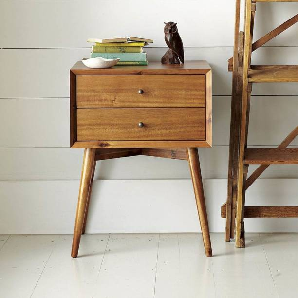 DriftingWood Engineered Wood Bedside Table