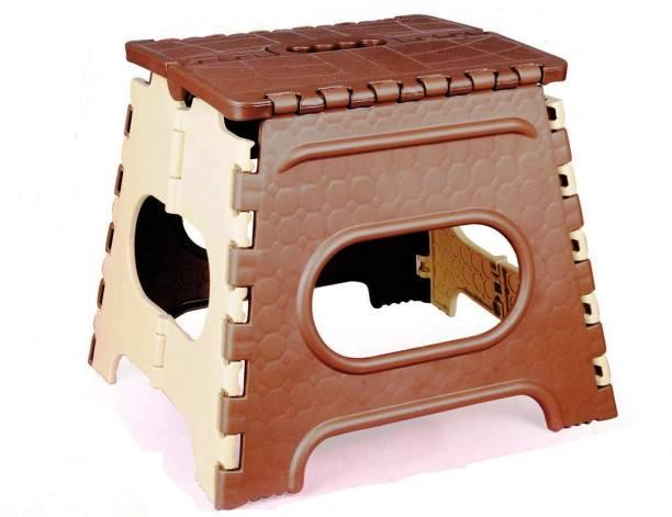 GOCART Folding Step Stool 12 inch Height Heavy Duty Fold able Stool for Kids & Adults Bathroom Stool