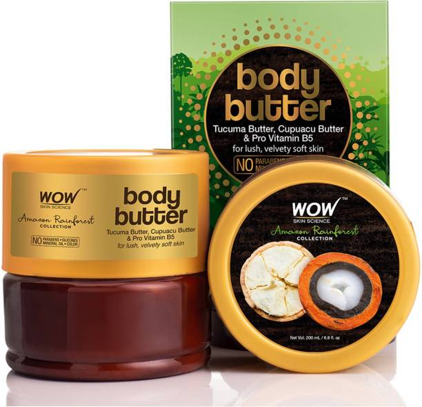 WOW SKIN SCIENCE Body Butter with Tucuma and Cupuacu Men & Women