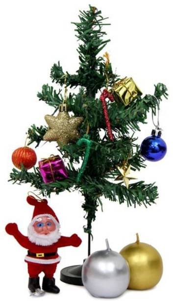 S K Bright Generic 31 cm (1.02 ft) Artificial Christmas Tree