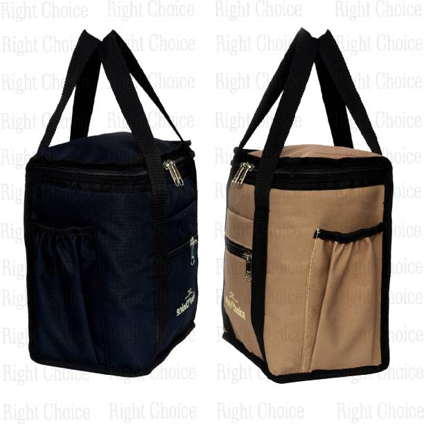RIGHT CHOICE Combo 2 Lunch Tiffin Bags Lunch Bag