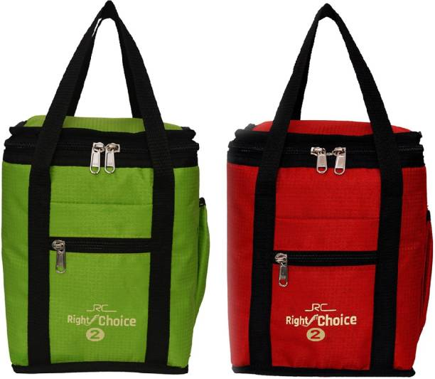 RIGHT CHOICE Combo 2 Offer Lunch Bags Branded Premium Quality Lunch Bag