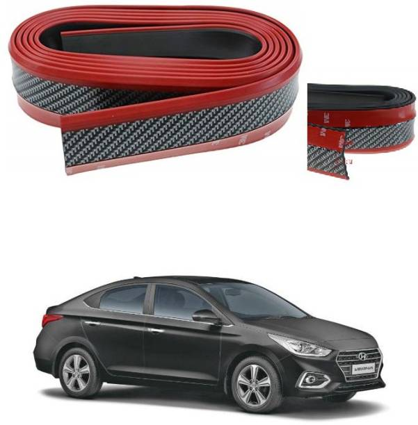 PRTEK Protector Carbon Fiber Pattern Red 068 Car Beading Roll For Grill and Garnish Cover