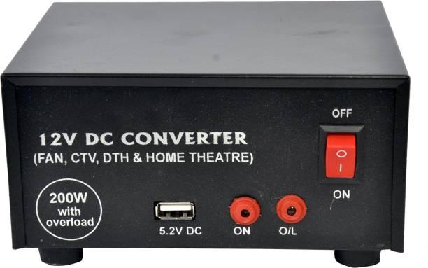 ESP 12V DC To 220V AC Converter for FAN Worldwide Adaptor