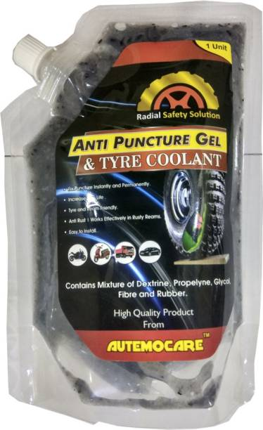 AUTEMOCARE Anti Puncture Gel Pichku01 Tubeless Tyre Puncture Repair Kit