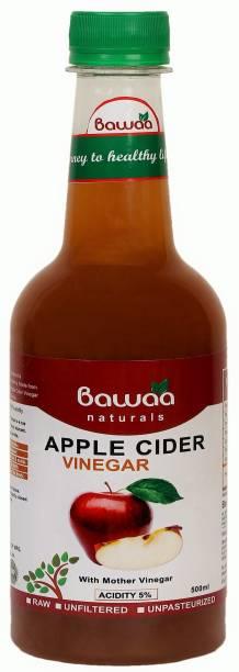 bawaa Apple Cider Vinegar with Mother - Raw, Unfiltered, Unpasteurized Vinegar