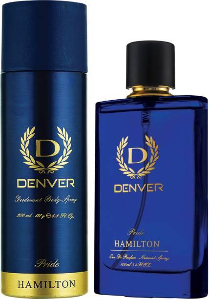DENVER Pride Perfume 100 Ml & Pride Deo 200 Ml Combo