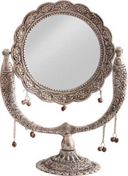 Royalbox Handcrafted Fish Design Mirror View Decorative Showpiece