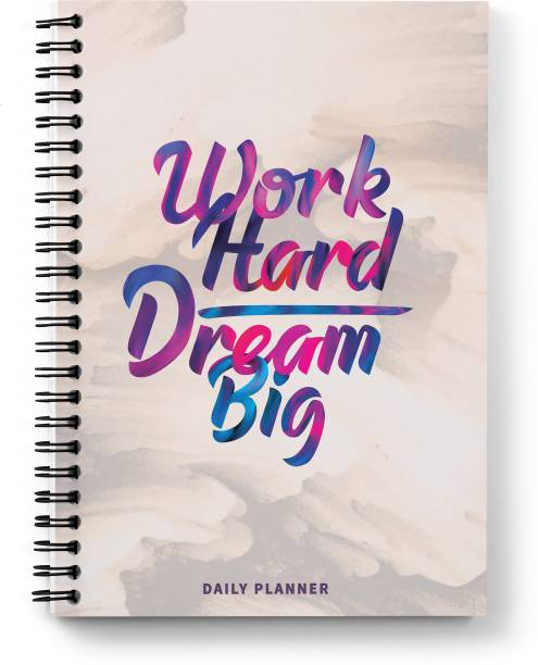 Sprout SBDPABSTRACT A5 Planner/Organizer Ruled 200 Pages