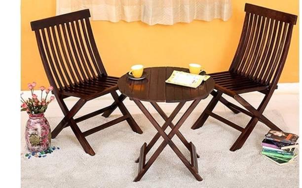 Shekhawati Decor Sheesham Wood Solid Wood 2 Seater Dining Set