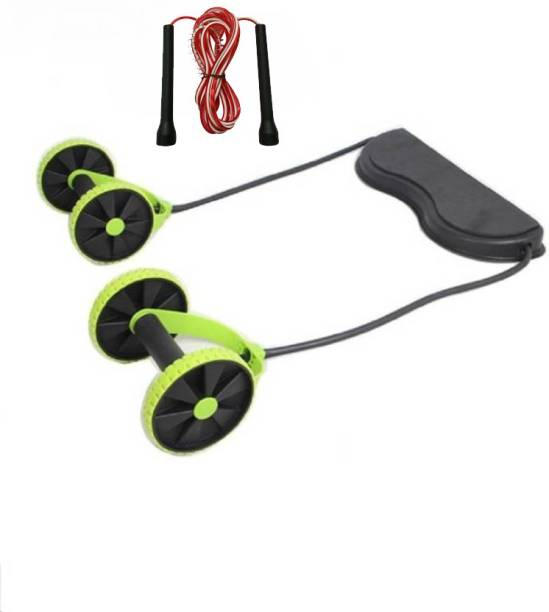 L'AVENIR FITNESS REVOLEX AB muscles Cum Multi Exerciser & Freestyle Jump Rope for Home Workout Gym & Fitness Kit
