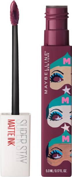 MAYBELLINE NEW YORK Super Stay Matte Ink Liquid Lipstick x Ashley Longshore