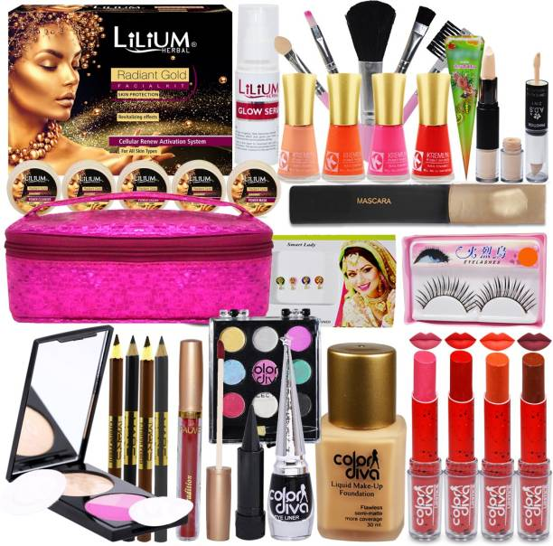 Color Diva Festive Special Gorgeous Makeup Pack for Girls and Womens-GC912