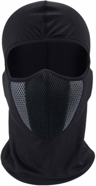 Auto Hub Black, Grey Bike Face Mask for Men & Women