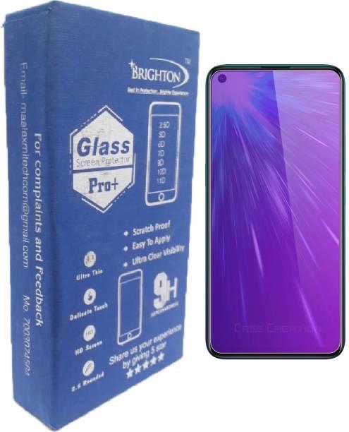 BRIGHTRON Edge To Edge Tempered Glass for Vivo Z1 Pro, Vivo Y50, Poco M3 Pro 5G, Realme 6i, Realme 6, Oppo F11 pro, Oppo A53 2020, Oppo A52, Realme Narzo 20 Pro, Realme 7, Realme 7i
