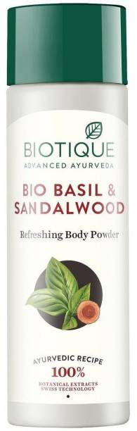BIOTIQUE Basil and Red Sandal wood Body Talc