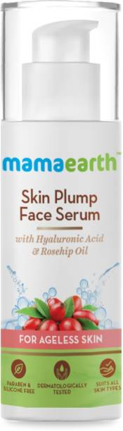 MamaEarth Skin Plump Serum For Face Glow, with Hyaluronic