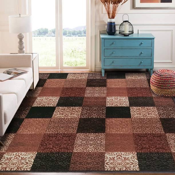 STATUS Multicolor Polyester, Blended Carpet