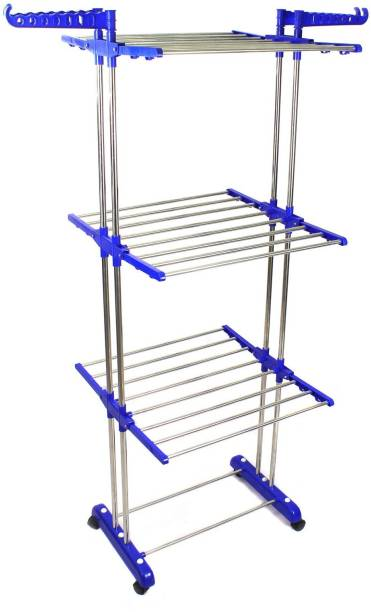 TNC Steel Floor Cloth Dryer Stand B2SS-02112019