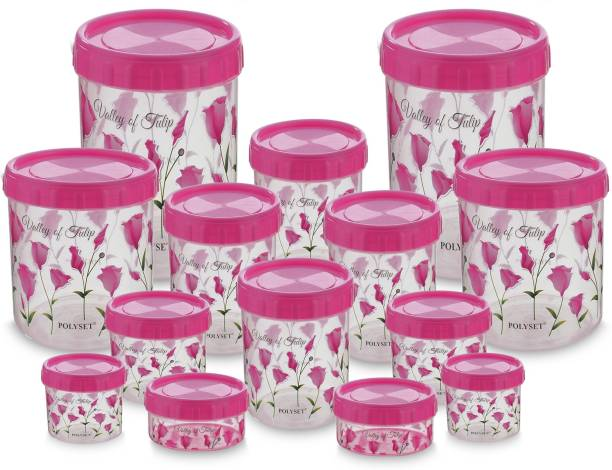 POLYSET Twisty-Valley of Tulip  - 8440 ml Plastic Grocery Container