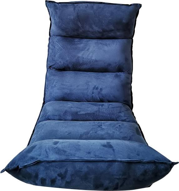 Furn Central EASY-0207-16 Navy Blue Floor Chair